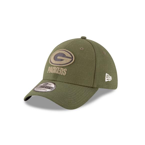 New Era Green Bay Packers Salute to Service 39THIRTY Stretch Fit Hat - Main  Container Image 99e86d46fb9