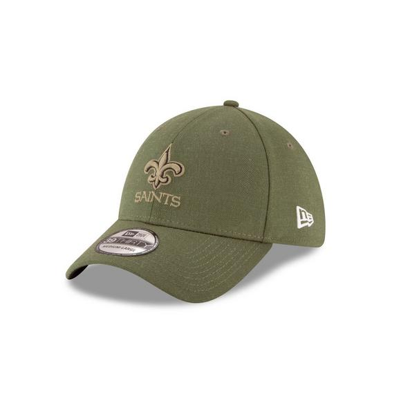 ... france new era new orleans saints salute to service 39thirty stretch fit  hat main container image 446e88247
