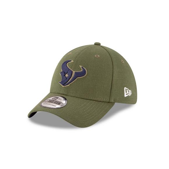 bedb91bd412815 New Era Houston Texans Salute to Service 39THIRTY Stretch Fit Hat - Main  Container Image 1