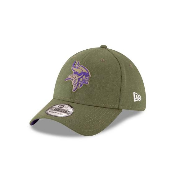 0181edfd6 ... coupon code for new era minnesota vikings salute to service 39thirty  stretch fit hat main container ...