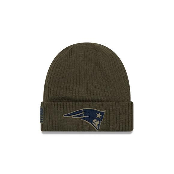 new concept 8c1ee cf9fa New Era New England Patriots Salute to Service Knit Hat - Main Container  Image 1