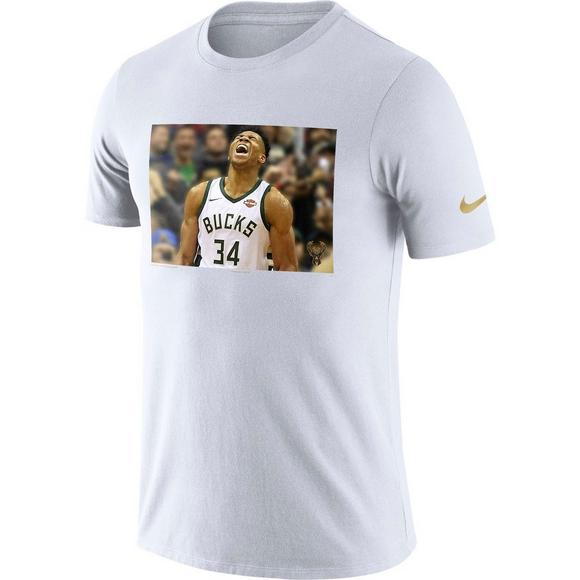 d2486881e95 Nike Men s Milwaukee Bucks Giannis Antetokounmpo Dry MVP T-Shirt - Main  Container Image 1