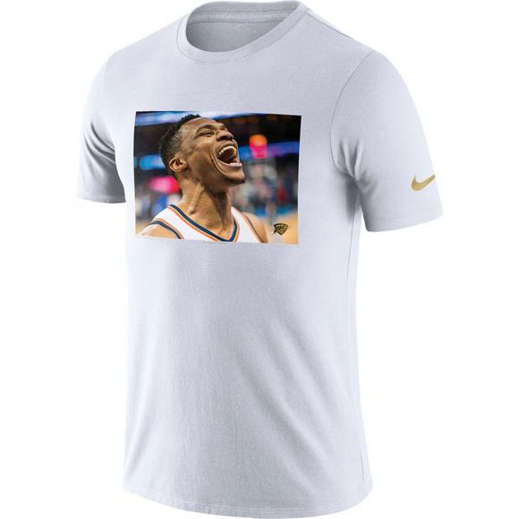 f8f865d229a Nike Men's Oklahoma City Thunder Russell Westbrook Dry MVP T-Shirt - Main  Container Image