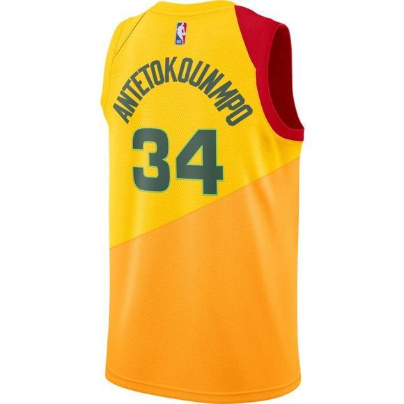 0477155eada Nike Men s Milwaukee Bucks G. Antetokounmpo City Edition Swingman Jersey -  Main Container Image 2