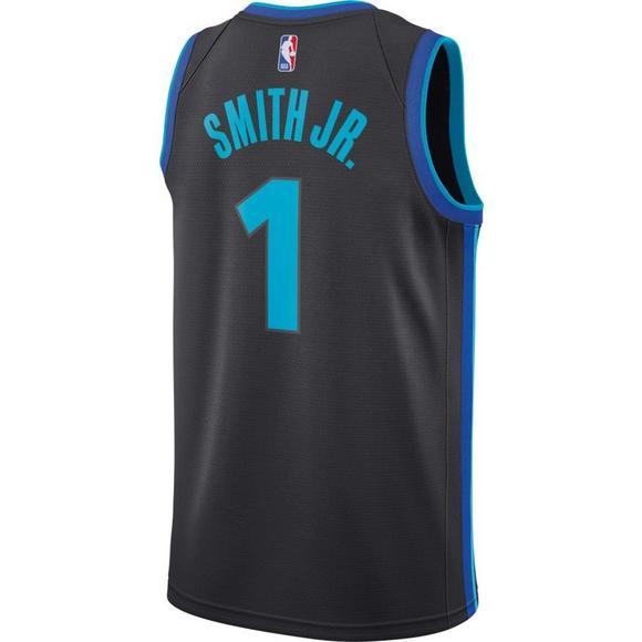8b9d05717 Nike Men s Dallas Mavericks D. Smith Jr. City Edition Swingman Jersey -  Main Container
