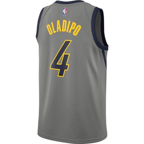 522779952de Nike Men s Indiana Pacers V. Oladipo City Edition Swingman Jersey - Main  Container Image 2