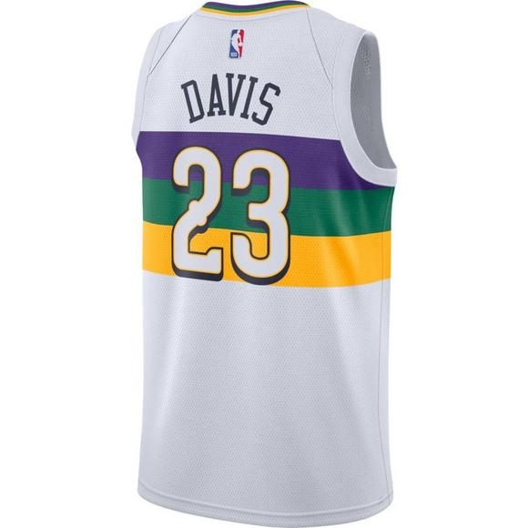 826cf072e998 Nike Men s New Orleans Pelicans A. Davis City Edition Swingman Jersey - Main  Container Image