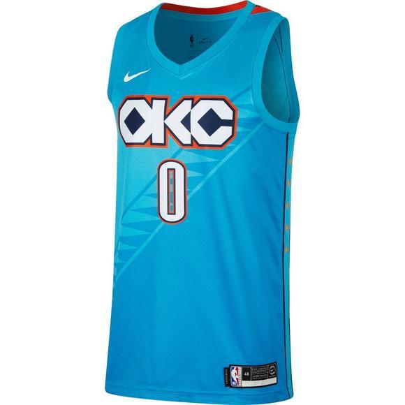online retailer 40d14 18ba9 Nike Men's Oklahoma City Thunder R. Westbrook City Edition ...