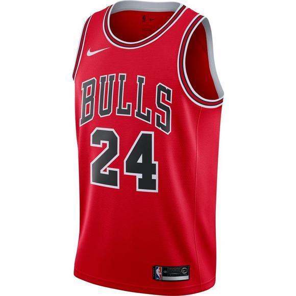 new products 95b9a f6211 Nike Men's Chicago Bulls Lauri Markkanen Icon Swingman ...