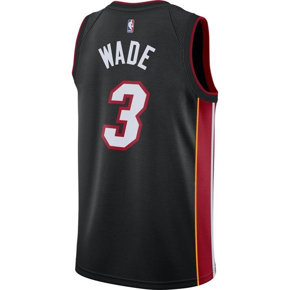 28d17417c Nike Men s Miami Heat Dwayne Wade Icon Swingman Jersey - Main Container  Image 2