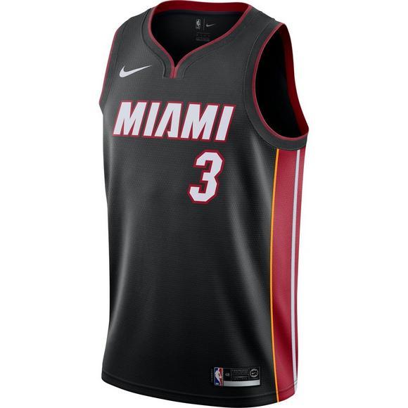 e615f7c8b4a Nike Men s Miami Heat Dwayne Wade Icon Swingman Jersey - Main Container  Image 1