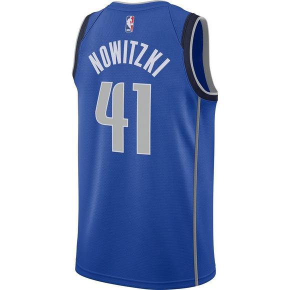 a35311e041e Nike Men s Dallas Mavericks Dirk Nowitzki Icon Swingman Jersey - Main  Container Image 2