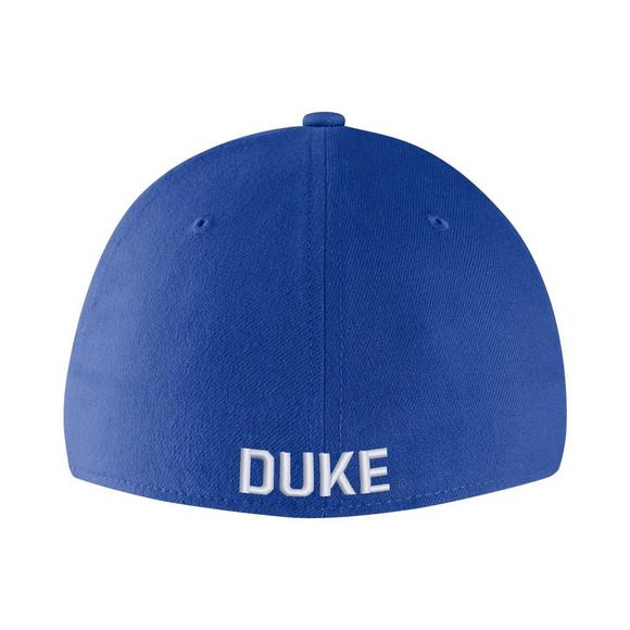 467ade69f591 Nike Duke Blue Devils Vault Dry Classic99 Swooshflex Hat - Main Container  Image 2