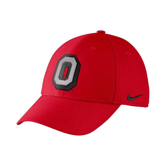 805dc29d0d814 Nike Ohio State Buckeyes Vault Dry Classic99 Swooshflex Hat - Main  Container Image 1