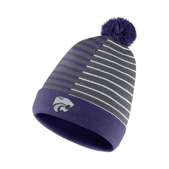 78c879b8b0d ... switzerland nike kansas state wildcats beanie striped knit hat main  container image 1 42351 3e373