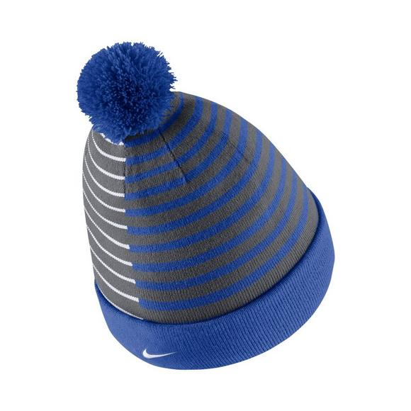 new product a844c f5345 Nike Kentucky Wildcats Beanie Striped Knit Hat - Main Container Image 2