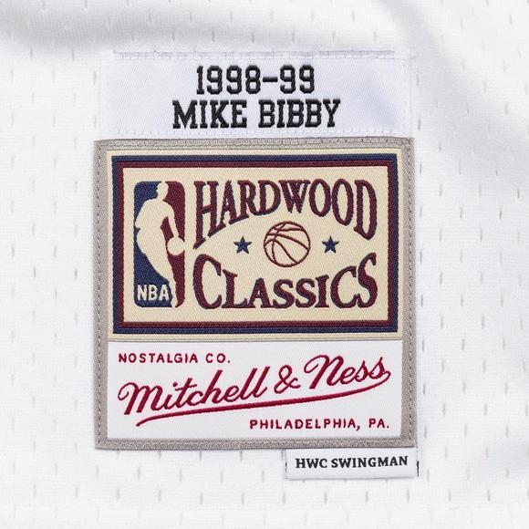 25dae8d5f Mitchell   Ness Men s Mike Bibby Vancouver Grizzlies Split Hardwood Classics  Swingman Jersey - Main Container