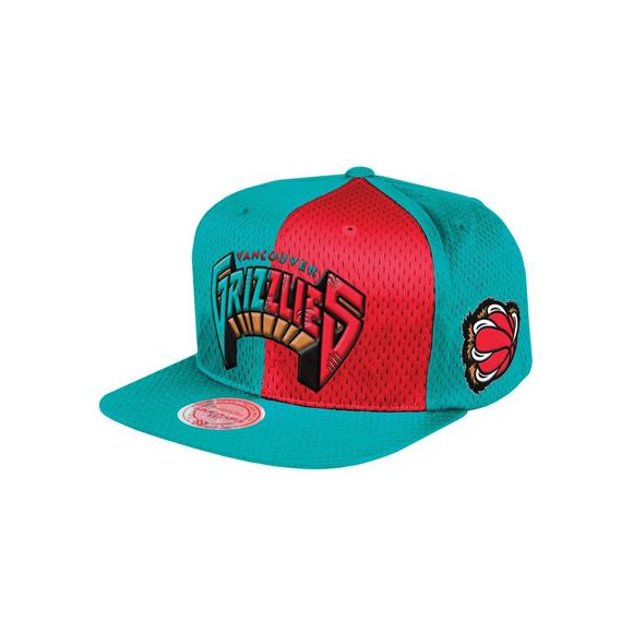 ee9f8396 Mitchell & Ness Vancouver Grizzlies Division Snapback Hat - Main Container  Image 1