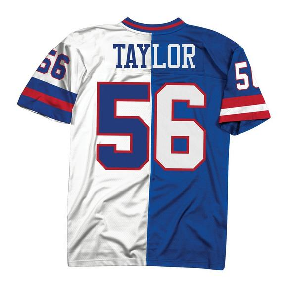online store c3c29 d1720 Mitchell & Ness Lawrence Taylor New York Giants 1986 Throwback Split Jersey