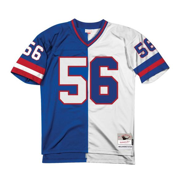 Mitchell Ness Lawrence Taylor New York Giants 1986 Throwback Split