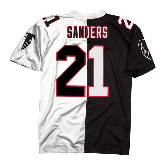 the best attitude f3f8f d6a32 Mitchell & Ness Deion Sanders Atlanta FalconsThrowback Split Jersey