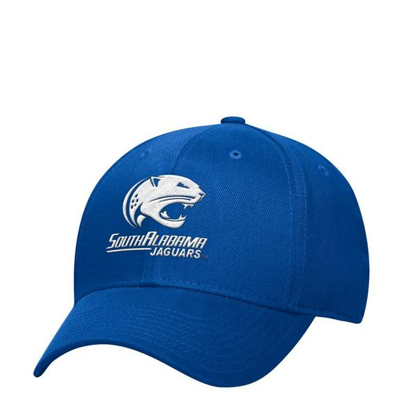 adidas South Alabama Jaguars Structured Flex Stretch-Fit Hat - Main  Container Image 1 ee17c38fd96