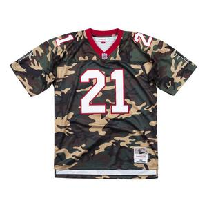 a4d86481d60 Mitchell   Ness Men s Deion Sanders Atlanta Falcons Woodland Camo 1992  Throwback Jersey