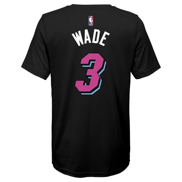 c1693648b Nike Youth D. Wade Miami Heat City Edition Dri-Fit Name   Number Short