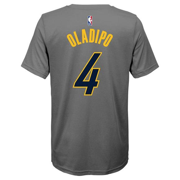 79d2b9f46e5 Nike Youth V. Oladipo Indiana Pacers City Edition Dri-Fit Name   Number  Short