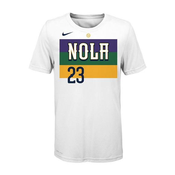 Nike Youth Anthony Davis New Orleans Pelicans City Edition Dri-Fit Name    Number Short 16f00bf4c