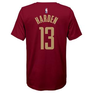 f7d4412348a Nike Youth J. Harden Houston Rockets City Edition Dri-Fit Name   Number  Short Sleeve Tee