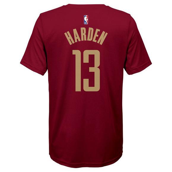 c9418da13080 Nike Youth J. Harden Houston Rockets City Edition Dri-Fit Name   Number  Short