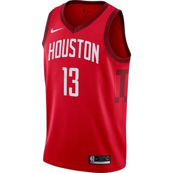 big sale 9d811 1d216 Nike Men's Houston Rockets J. Harden Earned Edition Swingman ...