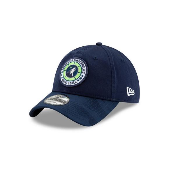 100% authentic 59eb2 b05fa New Era Minnesota Timberwolves Tip Off 9TWENTY Adjustable Hat - Main  Container Image 1
