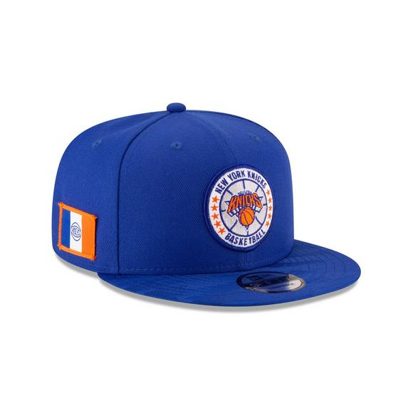 a91d99fa21bda New Era New York Knicks Tip Off 9FIFTY Snapback Hat - Main Container Image 2