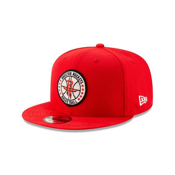 outlet store 45f04 0f4b9 New Era Houston Rockets Tip Off 9FIFTY Snapback Hat - Main Container Image 1