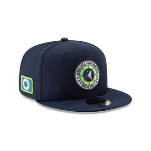 new arrival 38d2c 769f9 Free Shipping No Minimum. No rating value  (0). New Era Minnesota  Timberwolves Tip Off 9FIFTY Snapback Hat