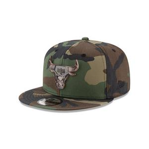 55224c614 New Era Chicago Bulls 9FIFTY Camo Capped Snapback Hat