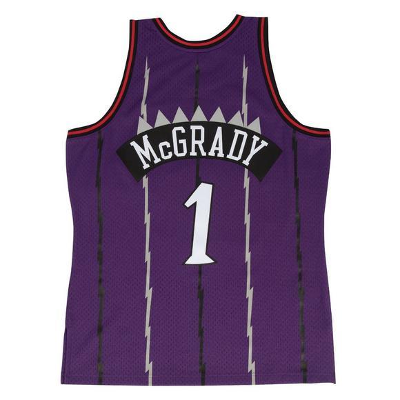 12d58c13512b Mitchell   Ness Men s T. McGrady Toronto Raptors 1998 Hardwood Classics  Swingman Jersey - Main