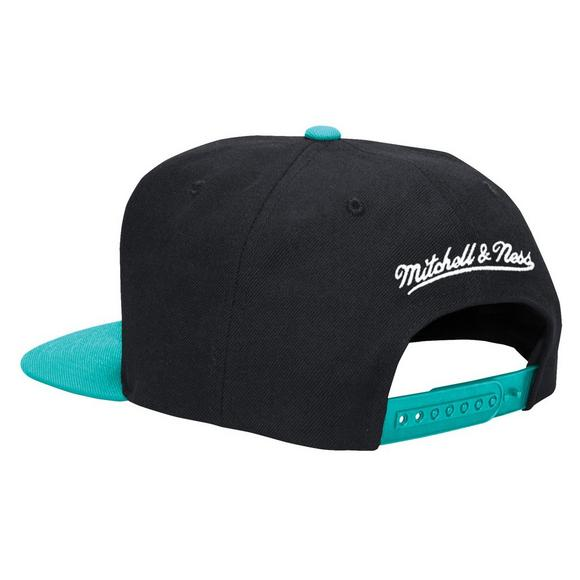 buy popular cf954 39532 Mitchell   Ness Memphis Grizzlies XL Logo 2 Tone Snapback Hat - Main  Container Image 2