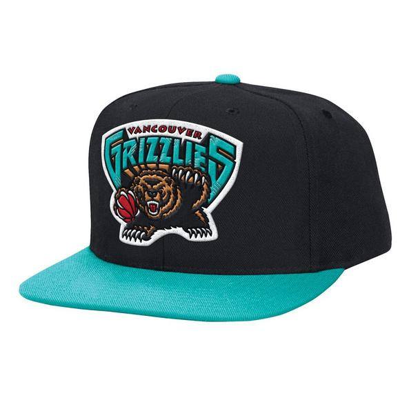 e2713c517da ... low price mitchell ness memphis grizzlies xl logo 2 tone snapback hat  main container image 1