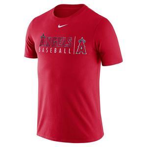 dab4969f Nike Men's Los Angeles Angels Dri-Fit Short Sleeve Practice Tee