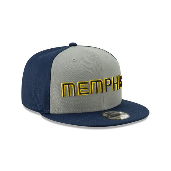 new arrival cbe5d a39c7 New Era Memphis Grizzlies City Series 9FIFTY Snapback Hat - Main Container  Image 2