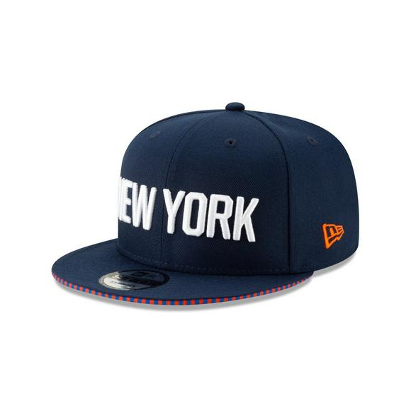 online store a34bd ded12 New Era New York Knicks City Series 9FIFTY Snapback Hat - Main Container  Image 1
