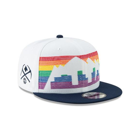 05f39a5aa41 New Era Denver Nuggets City Series 9FIFTY Snapback Hat - Main Container  Image 2