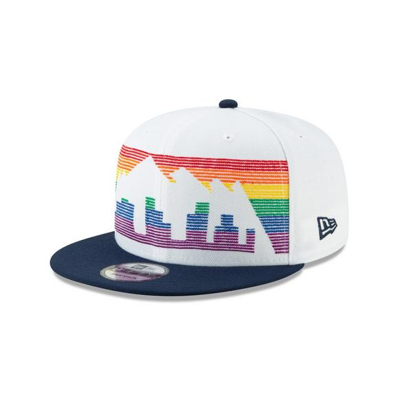 8ca9c24e25a New Era Denver Nuggets City Series 9FIFTY Snapback Hat - Main Container  Image 1