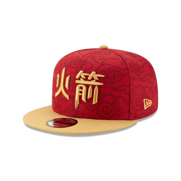 reputable site 8a659 921cd New Era Houston Rockets City Series 9FIFTY Snapback Hat - Main Container  Image 1