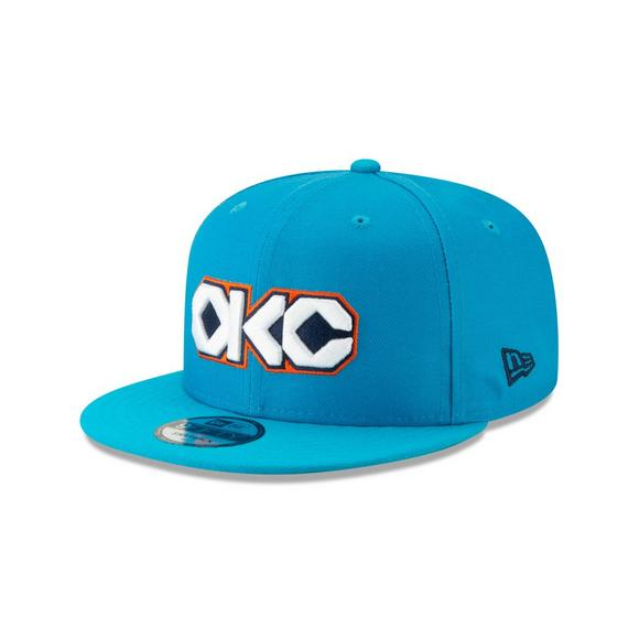 official photos 597d0 33d71 New Era Oklahoma City Thunder City Series 9FIFTY Snapback Hat - Main  Container Image 1