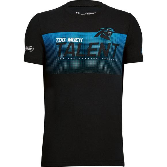 49a07a40 Under Armour Youth Carolina Panthers Combine Too Much Talent T-Shirt - Main  Container Image