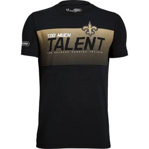a097601e Under Armour Youth New Orleans Saints Combine Too Much Talent T-Shirt ...
